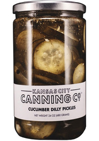Kansas City Cucumber Dilly Pickles Snack
