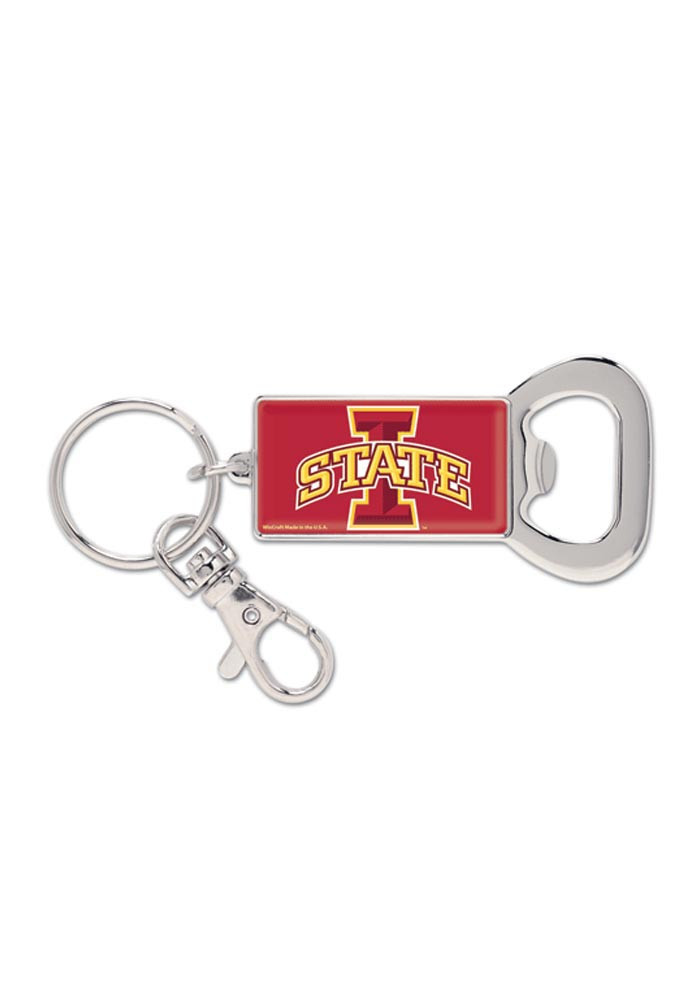 iowa state cyclones bottle opener keychain 5711572. Black Bedroom Furniture Sets. Home Design Ideas