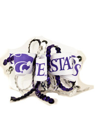 K-State Wildcats Baby Sequin Loop Hair Ribbons - Purple