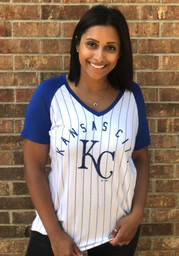 Kansas City Royals Womens Majestic Paid Our Dues T-Shirt - White