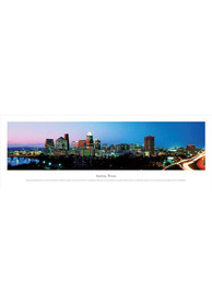Austin Texas Skyline Panoramic Picture Unframed Poster