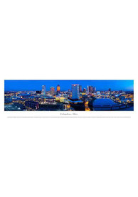 Columbus Ohio Panoramic Skyline Picture Unframed Poster
