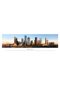 Houston Texas Panoramic Skyline Picture Unframed Poster