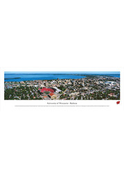 Wisconsin Badgers Aerial Panorama Unframed Poster