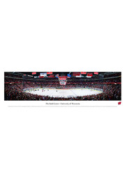 Wisconsin Badgers Hockey Panorama Unframed Poster