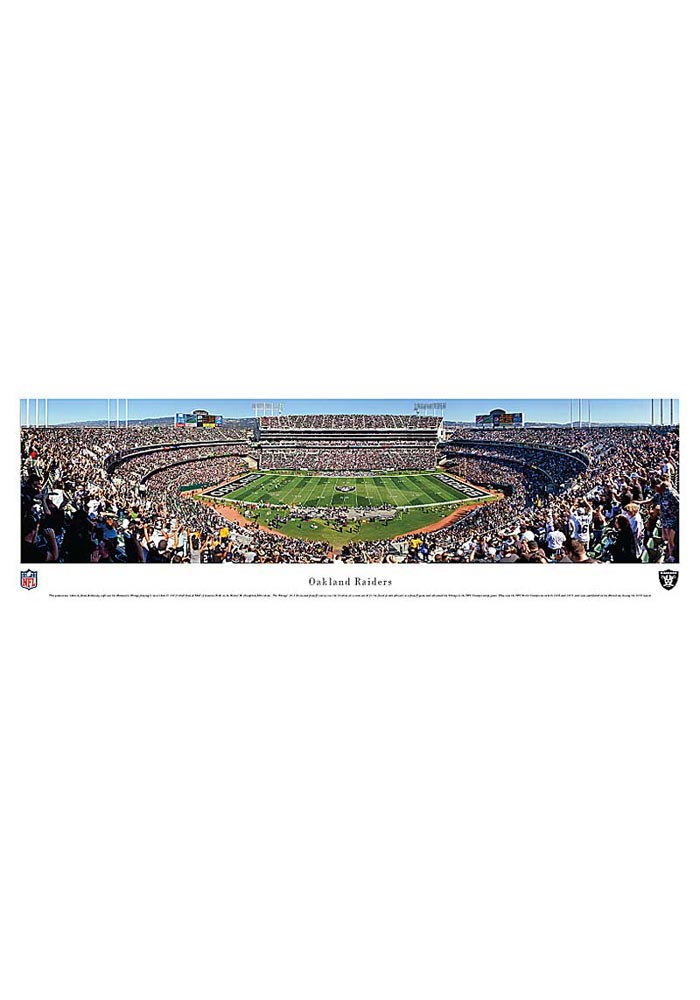 Oakland Raiders Football Panorama Unframed Poster - Image 1