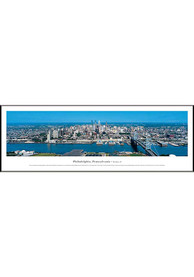 Philadelphia Panoramic Picture Framed Posters
