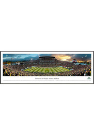 Oregon Ducks Football Panorama Framed Posters