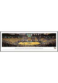 Wake Forest Demon Deacons Basketball Panorama Framed Posters
