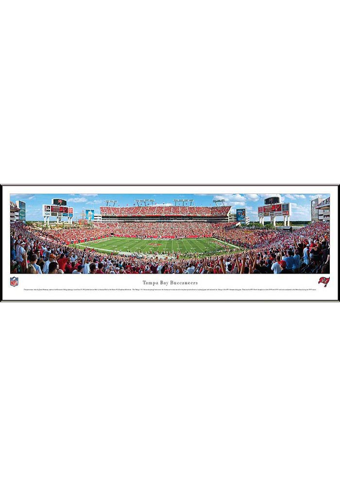 Tampa Bay Buccaneers Panorama Framed Posters - Image 1