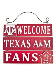Texas A&M Aggies Welcome Sign