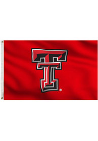Texas Tech Red Raiders 3x5 Red Grommet Applique Flag