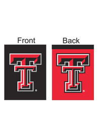 Texas Tech Red Raiders 30x40 2 Sided Red Black Silk Screen Banner