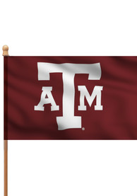 Texas A&M Aggies 3x5 Maroon Sleeve Applique Flag