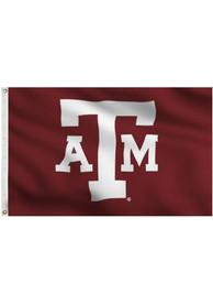Texas A&M Aggies 3x5 Maroon Grommet Applique Flag