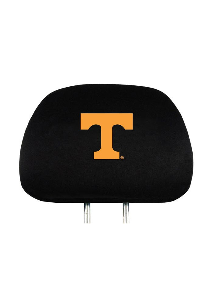Tennessee Volunteers 2 Piece Auto Head Rest Cover - Image 1