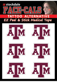 Texas A&M Aggies 6 Pack Tattoo