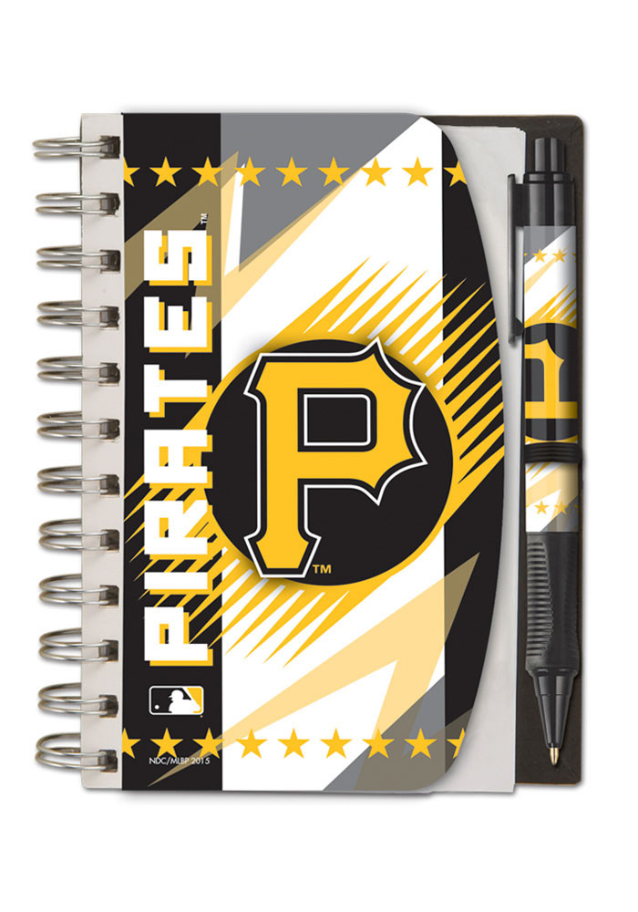 Pittsburgh Pirates Team Logo Notebooks and Folders - Image 1
