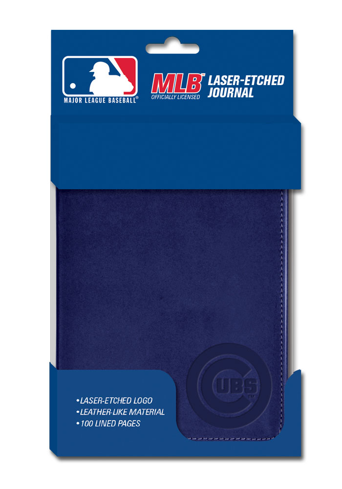 Chicago Cubs Colored Journal Notepad - Image 1