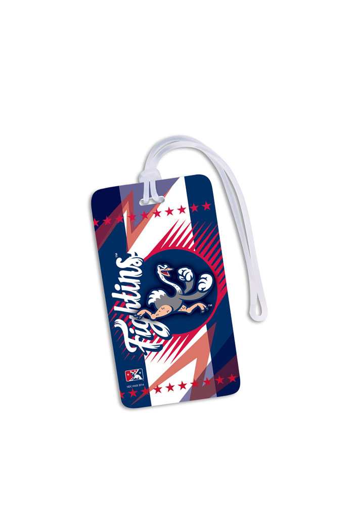 Reading Fightin Phils Team Logo Luggage Tag - Navy Blue