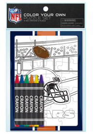 Chicago Bears Color Your Own Puzzle