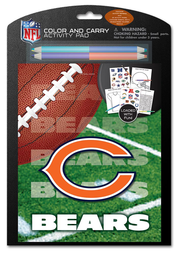 Chicago Bears Coloring & Activity Activity Book 8400857