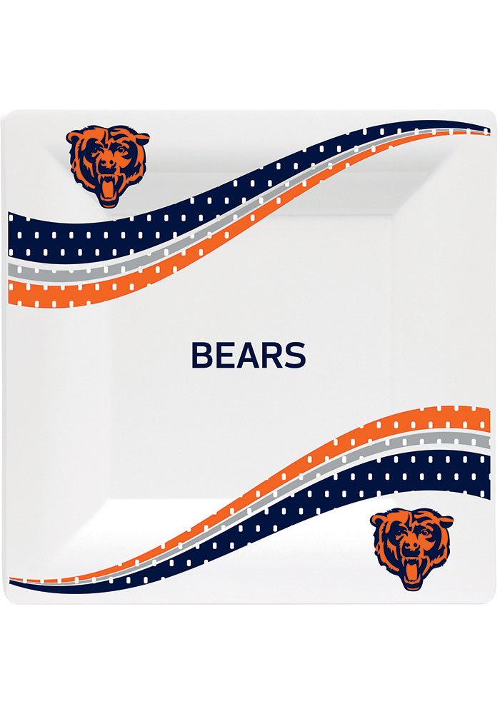 Chicago Bears Jersey Collection 6.5g Paper Plates - Image 1