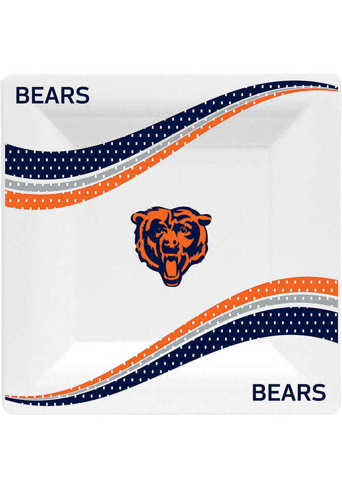 Chicago Bears Jersey Collection 9.5g Paper Plates - Image 1