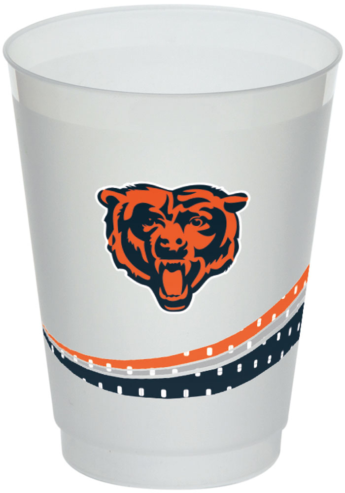 Chicago Bears Jersey Collection 160z Frost-Flex Disposable Cups - Image 1