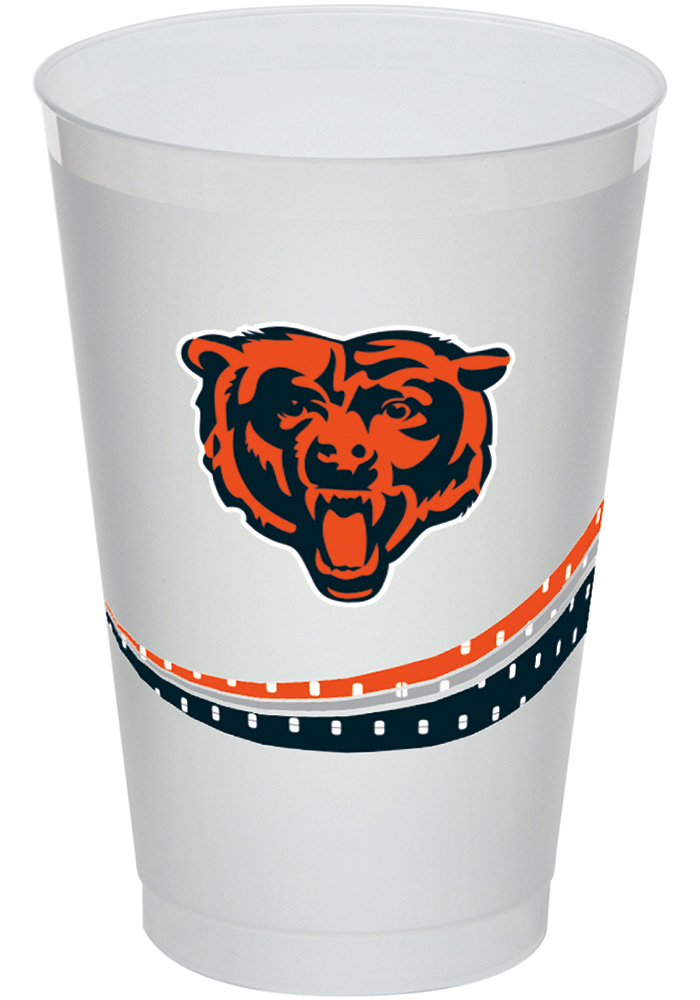 Chicago Bears Jersey Collection 20oz Frost-Flex Disposable Cups - Image 1