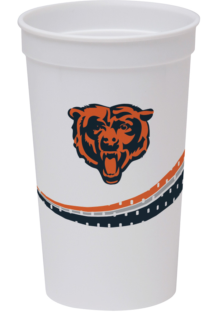 Chicago Bears Jersey Collection 22oz Stadium Disposable Cups - Image 1