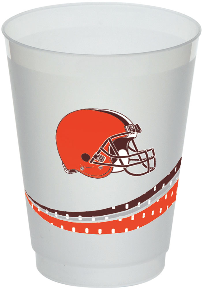 Cleveland Browns Jersey Collection 160z Frost-Flex Disposable Cups - Image 1
