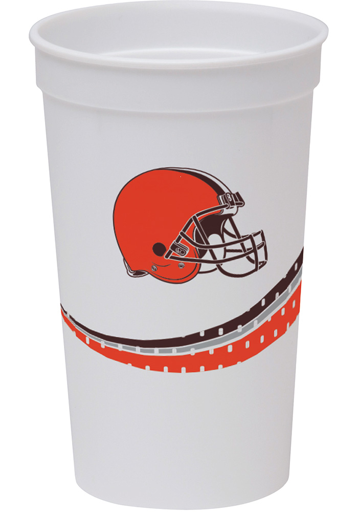 Cleveland Browns Jersey Collection 22oz Stadium Disposable Cups - Image 1