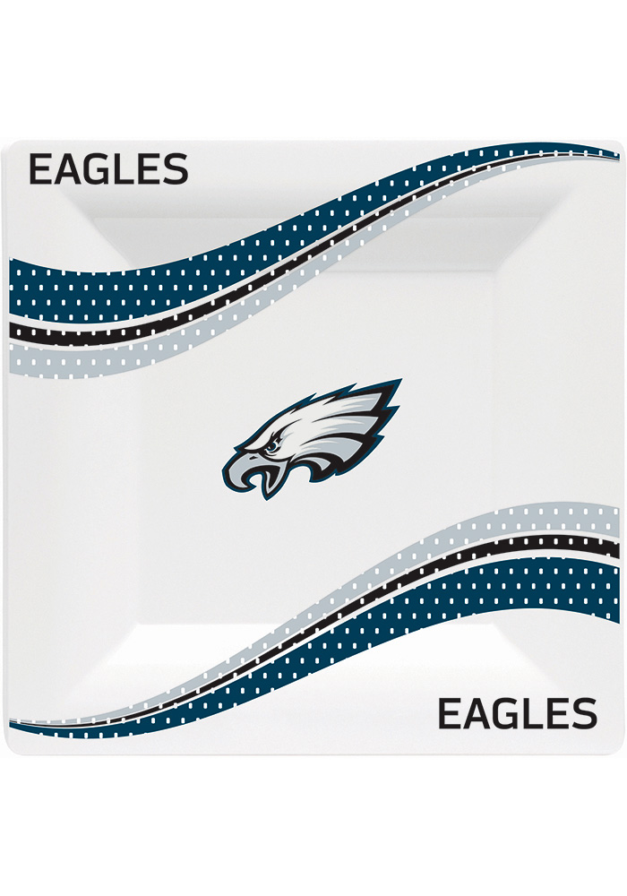 Philadelphia Eagles Jersey Collection 9.5g Paper Plates - Image 1