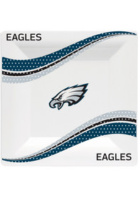 Philadelphia Eagles Jersey Collection 9.5 Paper Plates