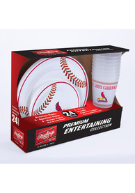 St Louis Cardinals Tailgate Kit White Party Pack