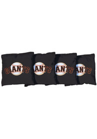 San Francisco Giants All-Weather Cornhole Bags Tailgate Game