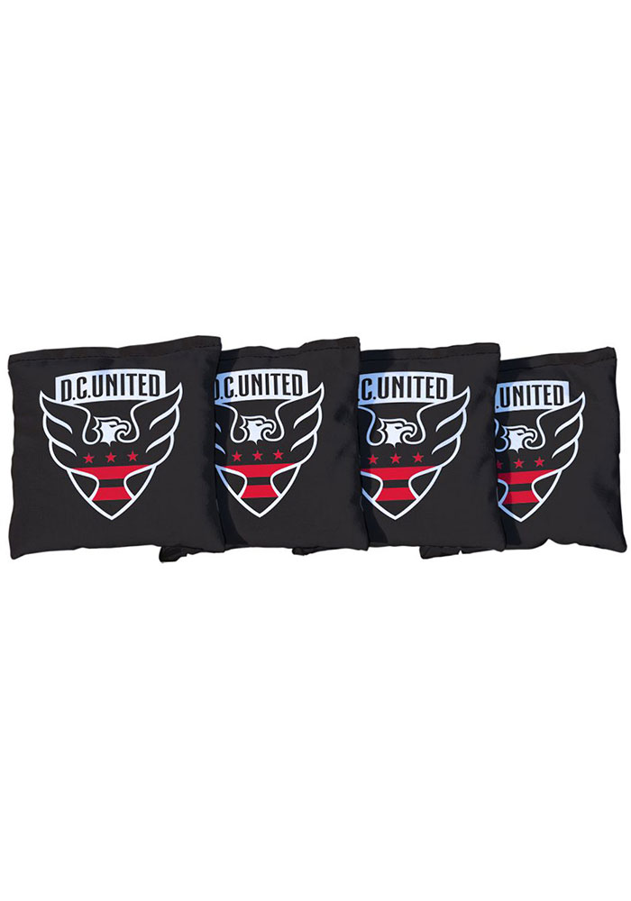 DC United All-Weather Cornhole Bags Tailgate Game - Image 1