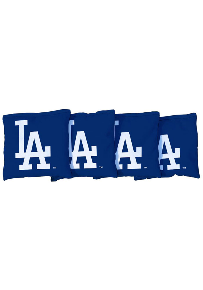 Los Angeles Dodgers All-Weather Cornhole Bags Tailgate Game - Image 1