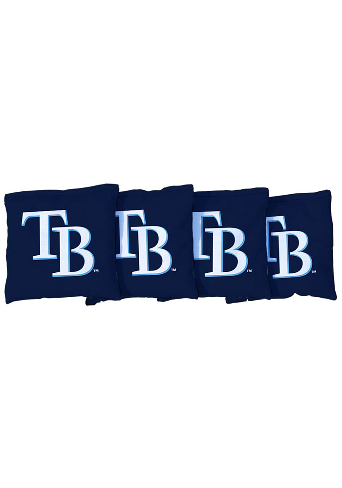 Tampa Bay Rays All-Weather Cornhole Bags Tailgate Game - Image 1