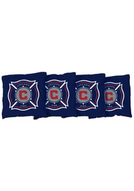 Chicago Fire All-Weather Cornhole Bags Tailgate Game