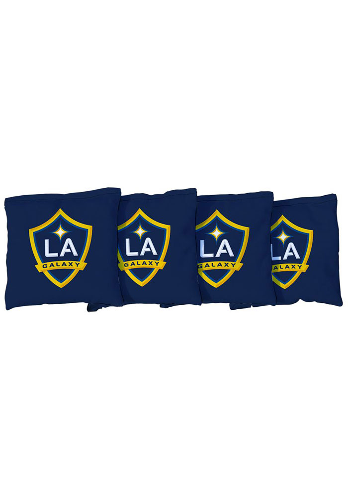 LA Galaxy All-Weather Cornhole Bags Tailgate Game - Image 1