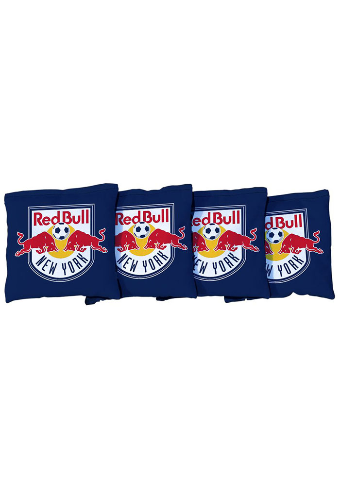 New York Red Bulls All-Weather Cornhole Bags Tailgate Game - Image 1