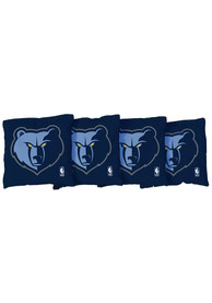 Memphis Grizzlies All-Weather Cornhole Bags Tailgate Game