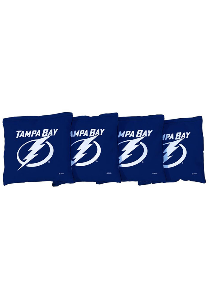 Tampa Bay Lightning All-Weather Cornhole Bags Tailgate Game - Image 1