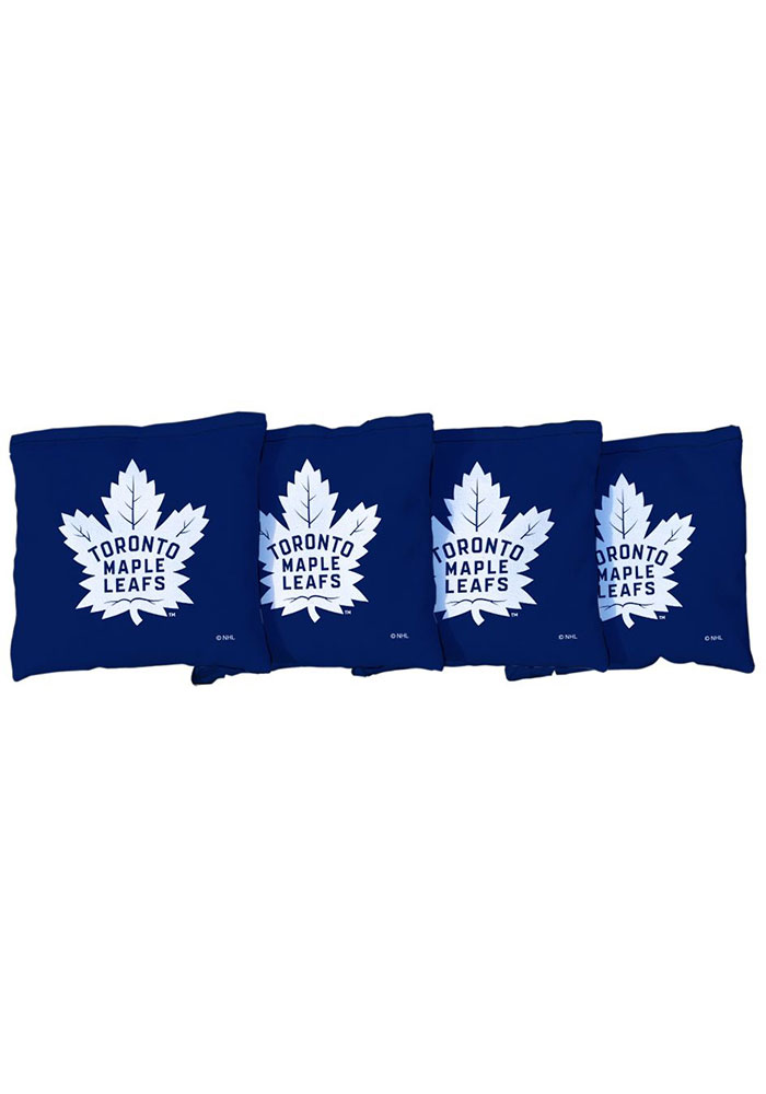Toronto Maple Leafs All-Weather Cornhole Bags Tailgate Game - Image 1