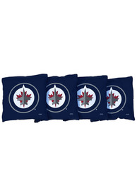 Winnipeg Jets All-Weather Cornhole Bags Tailgate Game