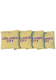 Orlando City SC All-Weather Cornhole Bags Tailgate Game
