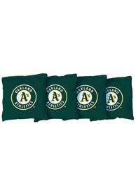 Oakland Athletics All-Weather Cornhole Bags Tailgate Game
