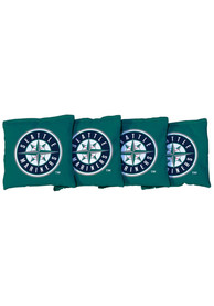 Seattle Mariners All-Weather Cornhole Bags Tailgate Game